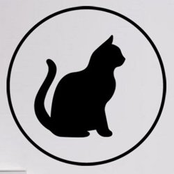 Samolepky na zeď Kočka 0508