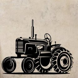 Samolepky na zeď Traktor 0722
