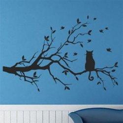 Samolepky na zeď Kočka 004