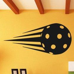 Samolepky na zeď Florbalový míček 1111