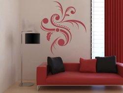 Samolepky na zeď Ornamenty z rostlin 007