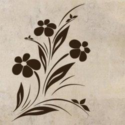 Samolepky na zeď Květiny 024