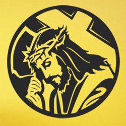 Samolepky na zeď Ježíš 1391