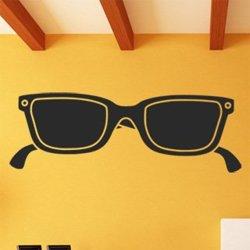 Samolepky na zeď Sluneční brýle 1287