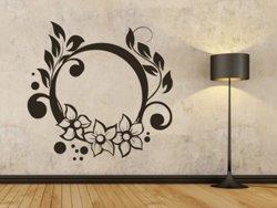 Samolepky na zeď Ornamenty z rostlin 021