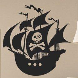 Samolepky na zeď Pirátská loď 0943