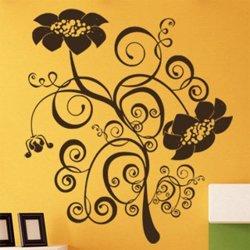 Samolepky na zeď Květiny 042