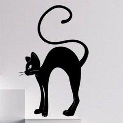 Samolepky na zeď Kočka 0467