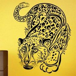 Samolepky na zeď Leopard 001