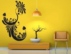Samolepky na zeď Ornamenty z rostlin 003