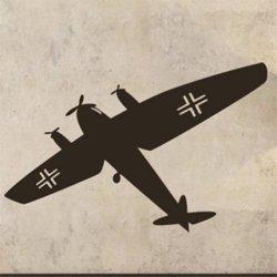 Samolepky na zeď Letadlo 0838