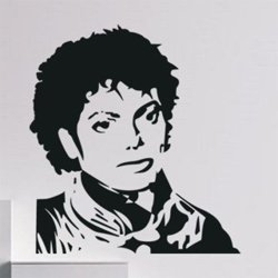 Samolepky na zeď Michael Jackson 1328