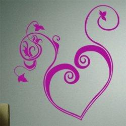 Samolepky na zeď Srdce 005