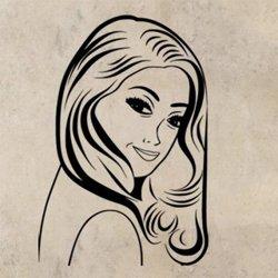 Samolepky na zeď Retro žena z komiksu 1072