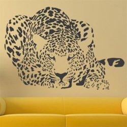 Samolepky na zeď Leopard 004
