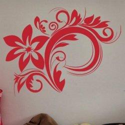 Samolepky na zeď Ornamenty z rostlin 030