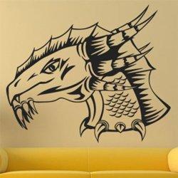 Samolepky na zeď Hlava draka 1254
