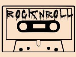 Samolepky na zeď Rock And Roll 002
