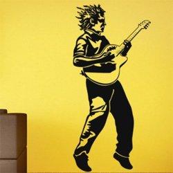 Samolepky na zeď Kytarista 001