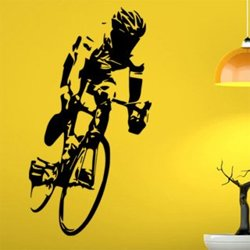 Samolepky na zeď Cyklista 1039