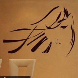 Samolepky na zeď Geisha 001