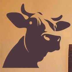 Samolepky na zeď Kráva 007