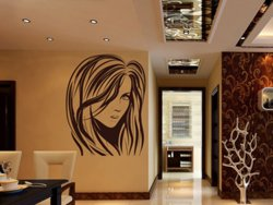 Samolepky na zeď Žena 033