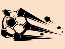 Samolepky na zeď Fotbalový míč 010
