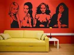 Samolepky na zeď Celebrity 001