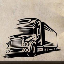 Samolepky na zeď Kamion 0746