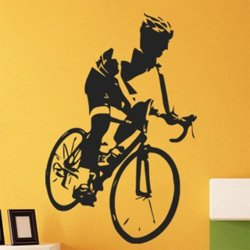 Samolepky na zeď Cyklista 1040