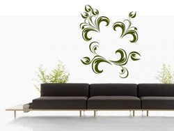 Samolepky na zeď Ornamenty z rostlin 013