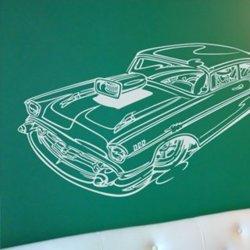 Samolepky na zeď Auto 007