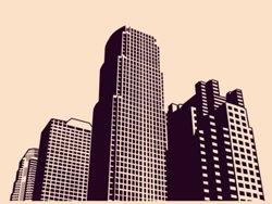 Samolepky na zeď Město 001